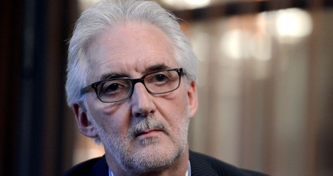 Brian Cookson: New president of the UCI