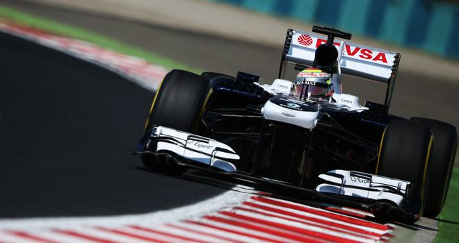 Pastor Maldonado: First point of the season in Hungary