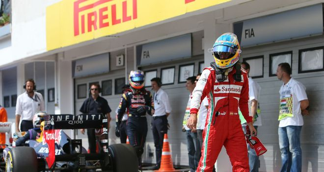 Fernando Alonso: Still chasing Red Bull