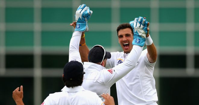 Steven Finn: Took two important wickets on day one