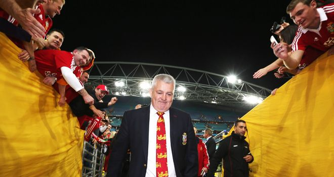Warren Gatland: Says the Lions series needs to be protected