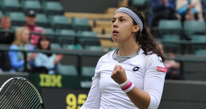 Marion Bartoli: Broke Stephens five times to clinch the second set