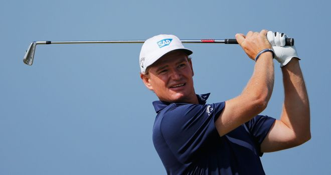 Ernie Els: Had momentum stopped by frustrating bogeys