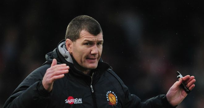 Rob Baxter: Chiefs head coach expecting a big test on Saturday