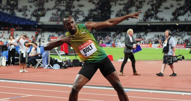Usain Bolt: Was not at his best but still a comfortable winner in the 100m