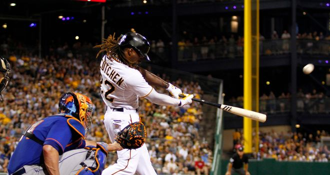 Andrew McCutchen: Hit both the game-tying homer and the go-ahead single against the Mets