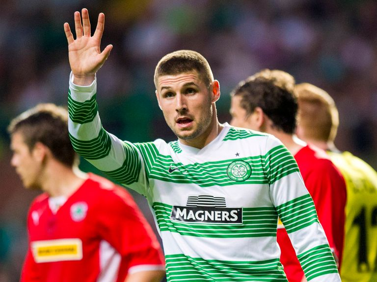 Gary Hooper: Celtic striker poised to complete his move to Norwich