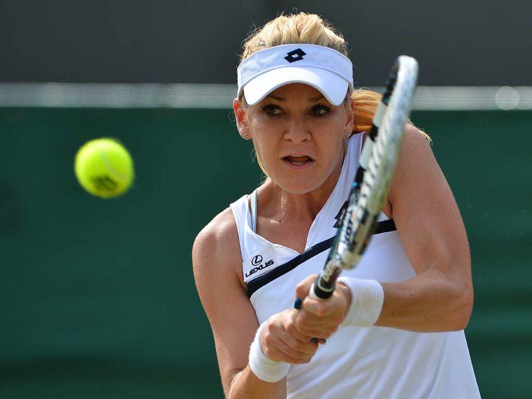 Radwanska: Came from a set down to defeat Pironkova