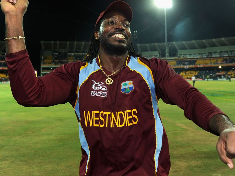 Chris Gayle: Back from injury for the West Indies