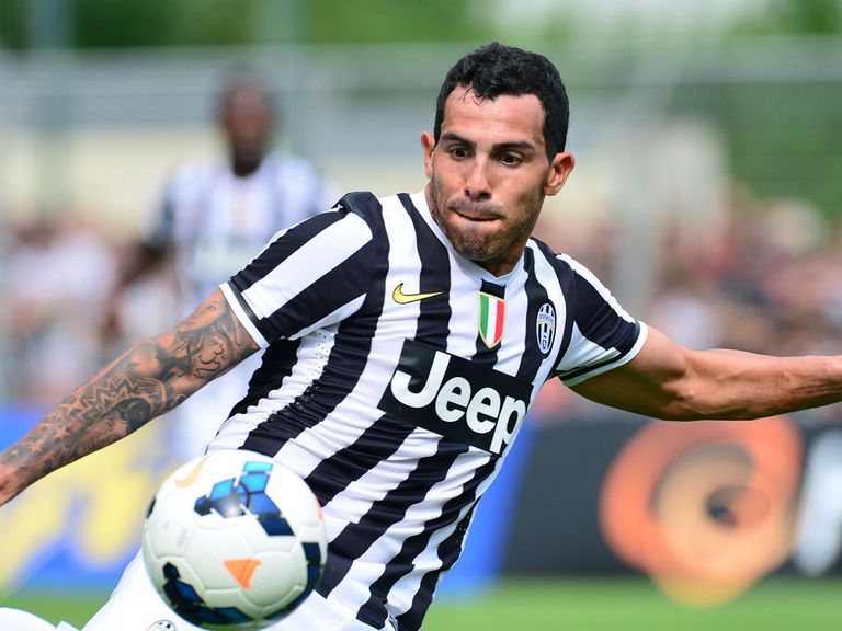 Carlos Tevez: Scored for Juventus