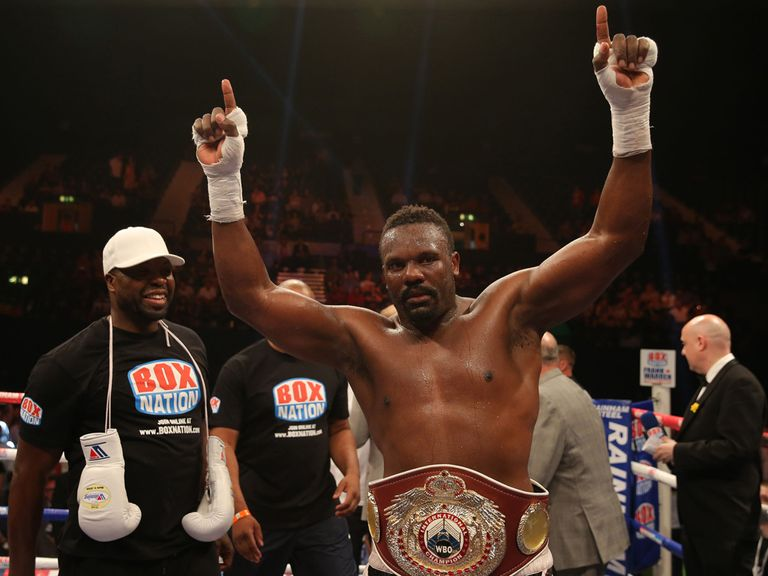 Dereck Chisora: Set to fight again in London on September 21