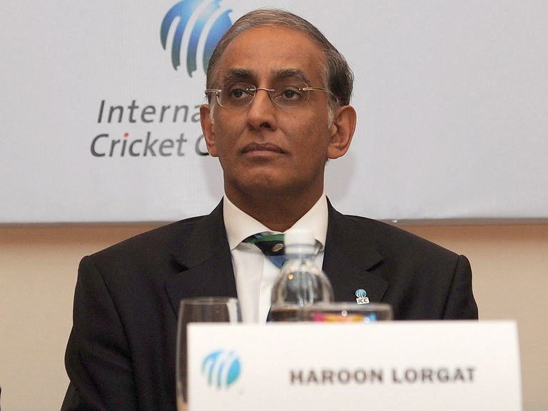 Haroon Lorgat: Withdrawn from ICC pending investigation