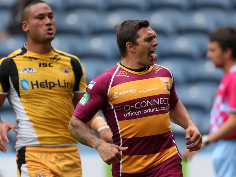 Danny Brough: Wins top prize