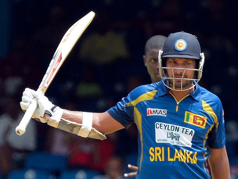 Kumar Sangakkara: Struck 90 off 95 balls for Sri Lanka