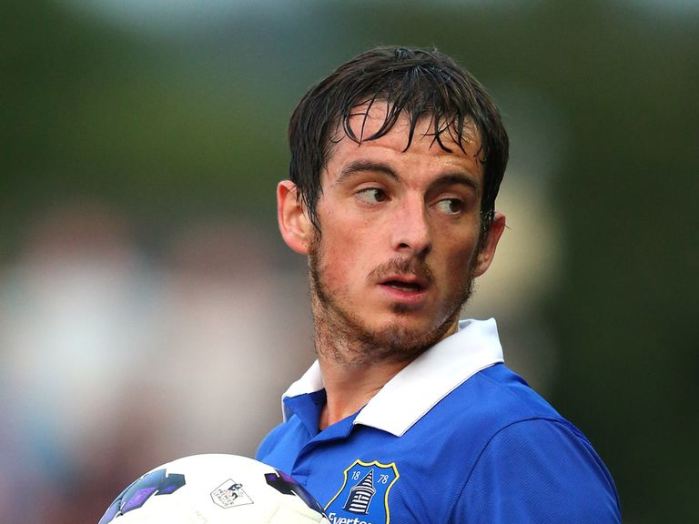 Leighton Baines: Happy with Toffees' midfield options