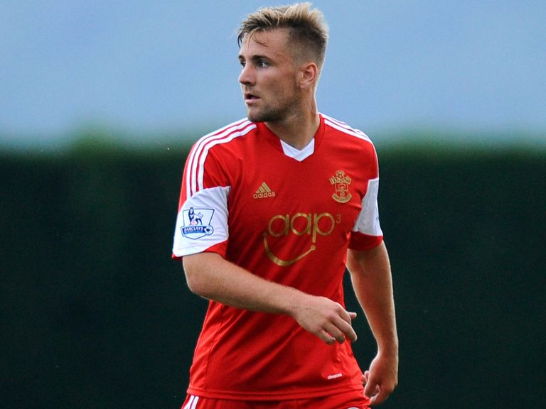 Luke Shaw: Won the vital penalty for Southampton