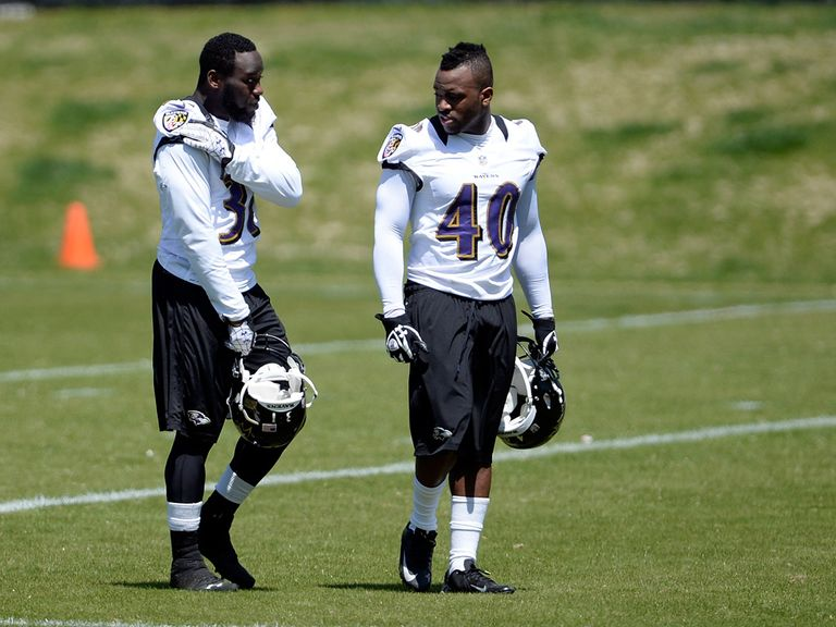 Matt Elam (left): Signed a deal with Baltimore