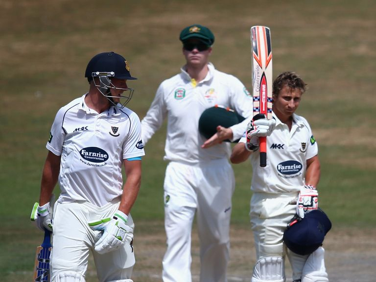 James Taylor: Hit a century against Australia at Hove