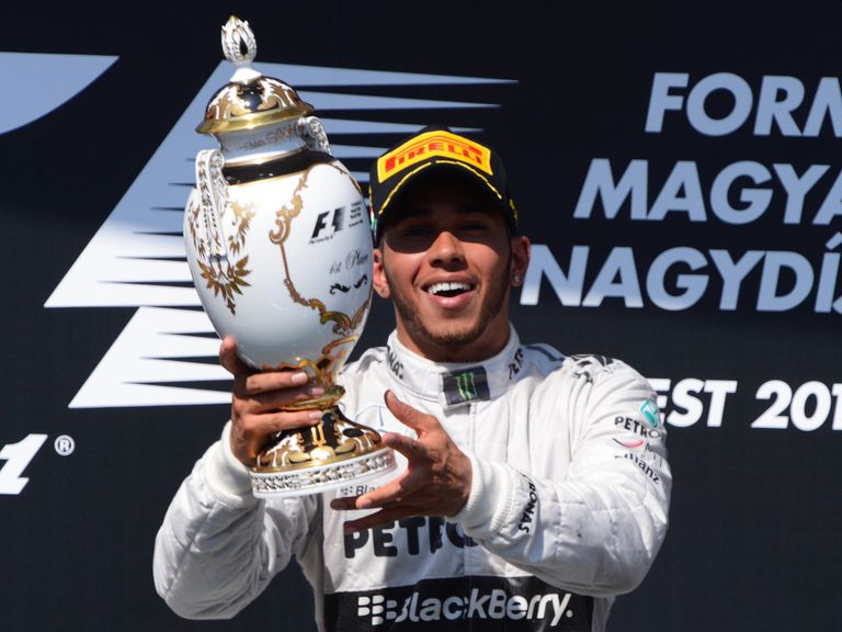 Lewis Hamilton: Won in Hungary before the summer break