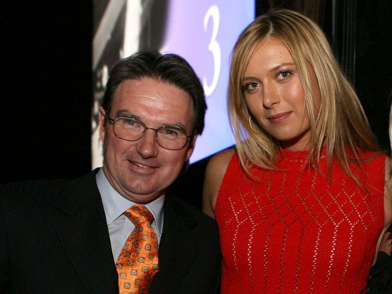 Maria Sharapova: Split from coach Jimmy Connors