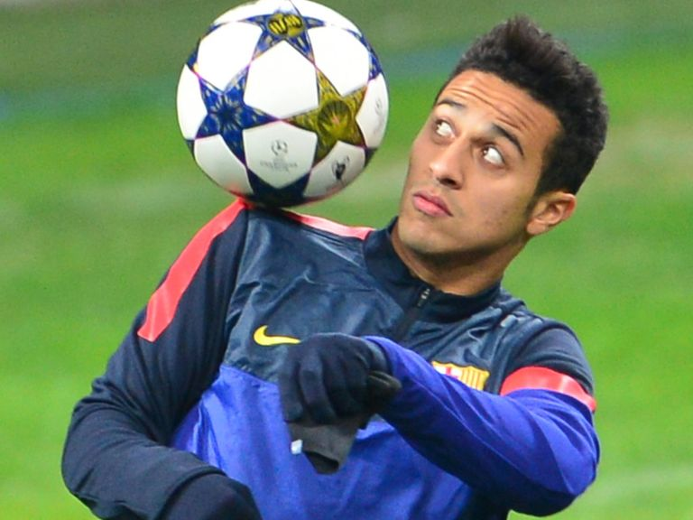 Thiago: Linked with Manchester United move