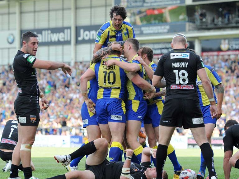 Warrington can celebrate semi-final success