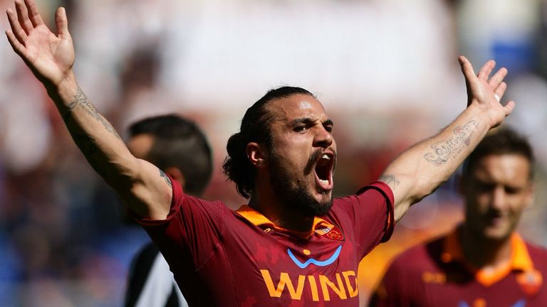 Daniel Osvaldo: The Italy international has joined Southampton from Roma