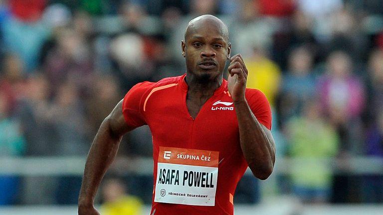 Asafa Powell: tested positive for the banned stimulant oxilofrine