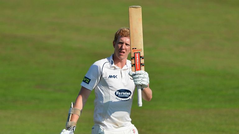 Luke Wells: Made 65 for Sussex before the rot set in