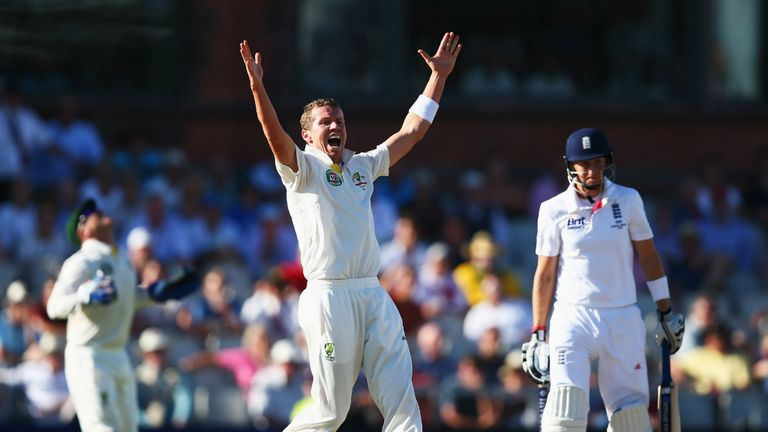 Peter Siddle: Australia fast bowler claimed wickets of Joe Root and Tim Bresnan