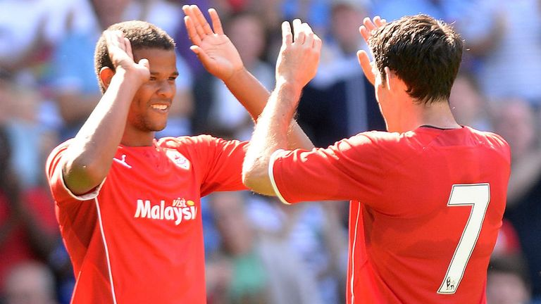 Fraizer Campbell & Peter Whittingham: Got the goals for Cardiff