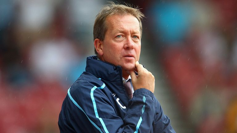 Alan Curbishley: Not ruling himself out of running for Crystal Palace job