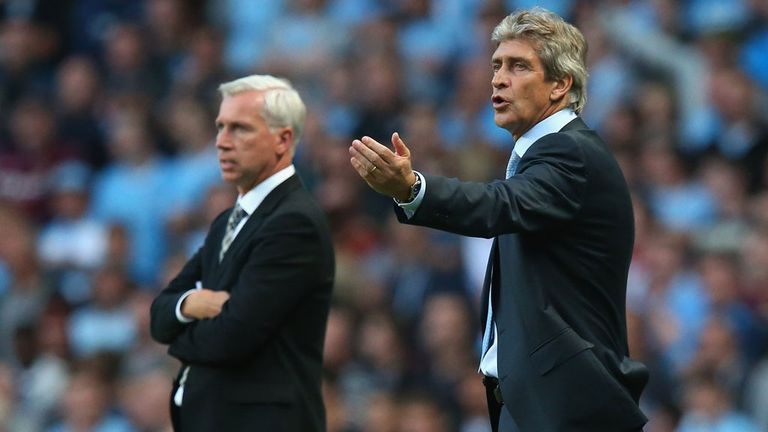 Manuel Pellegrini: City boss pleased with performance against Newcastle