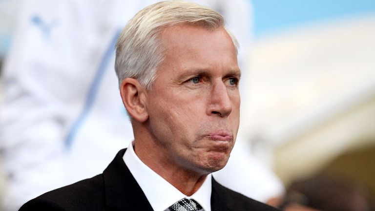 Pardew: Wants to add to rather than deplete squad
