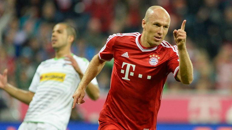 Arjen Robben: Bayern Munich are hopeful the winger will sign a new contract