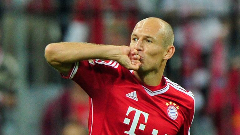 Arjen Robben: On target in Bayern win