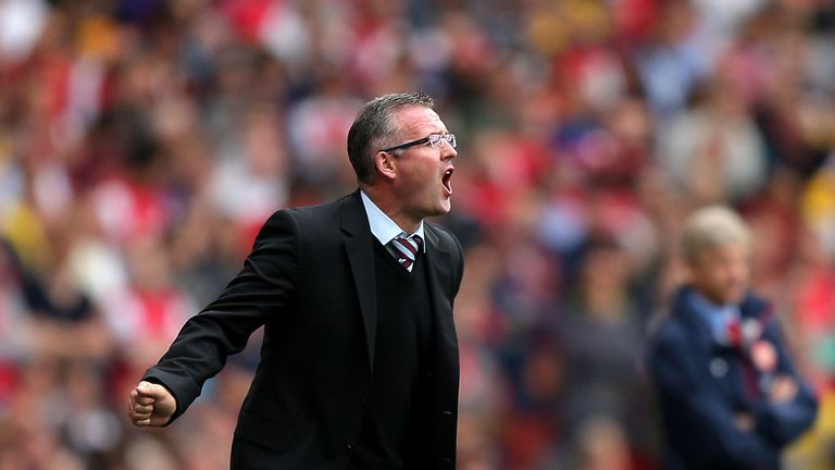 Paul Lambert: Taking positives from Aston Villa's tough opening