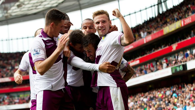 Aston Villa got their season off to a flyer at Arsenal