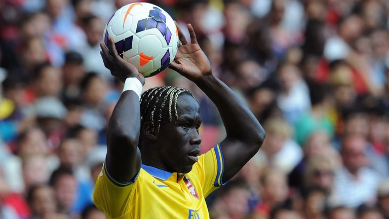 Bacary Sagna: Happy to cover at centre-back if required