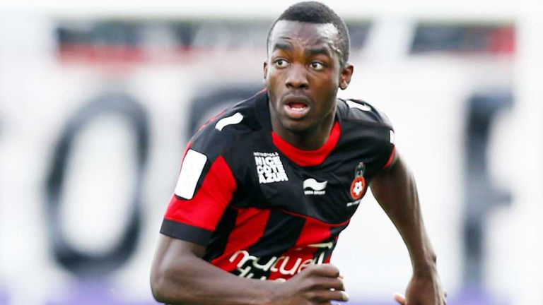 Stephane Bahoken: Nice striker has joined St Mirren on loan