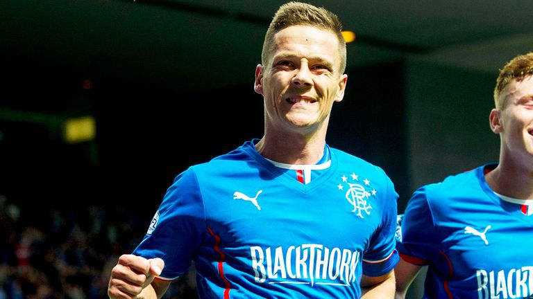 Ian Black: Rangers midfielder is accused of betting against three of the teams he has played for