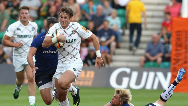 Blaine Scully: US back earns deal with the Leicester Tigers