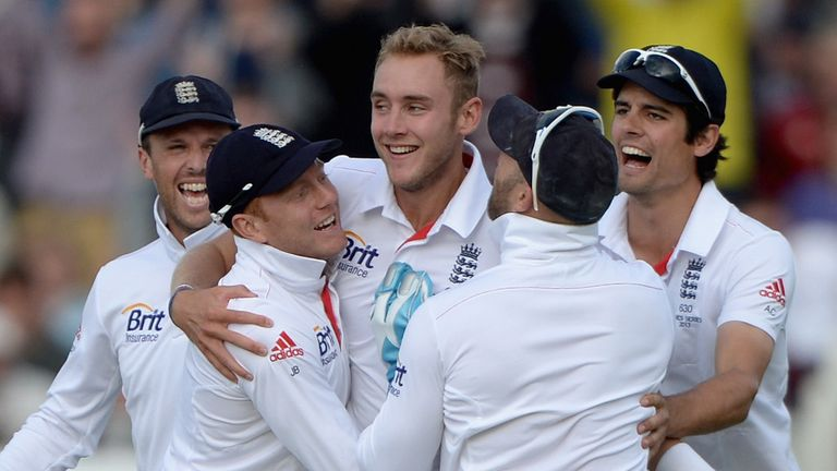Stuart Broad claimed 6-50 as England secured the series with victory in Durham