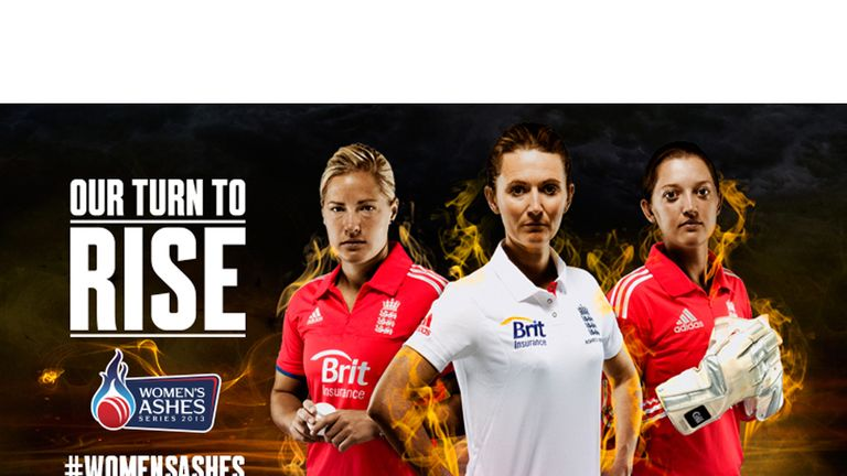 Katherine Brunt, Charlotte Edwards and Sarah Taylor are ready to rise to the challenge