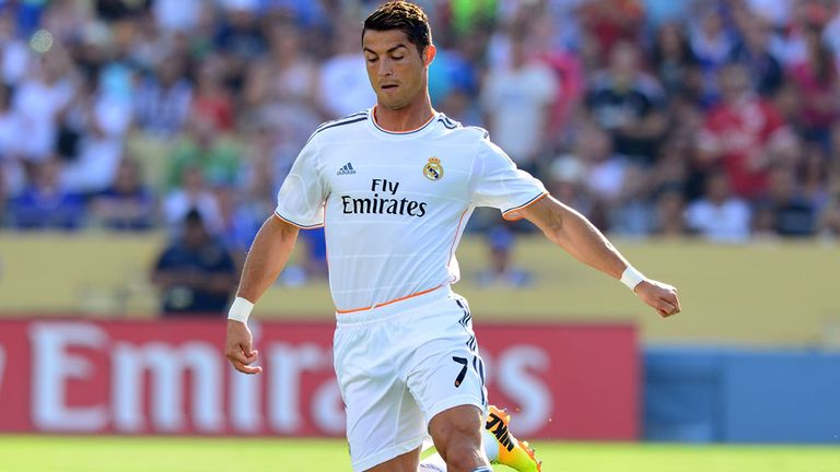 Cristiano Ronaldo: Scored for Real