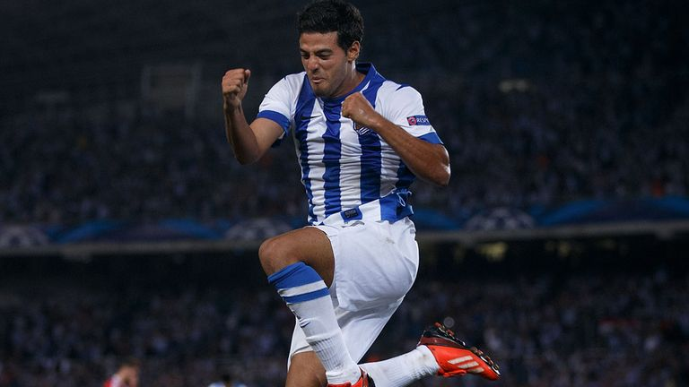 Carlos Vela: Real Sociedad striker learned from Robin van Persie