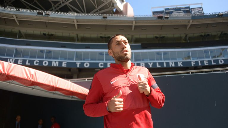 Clint Dempsey: Rumours he could make Centurylink Field his new home