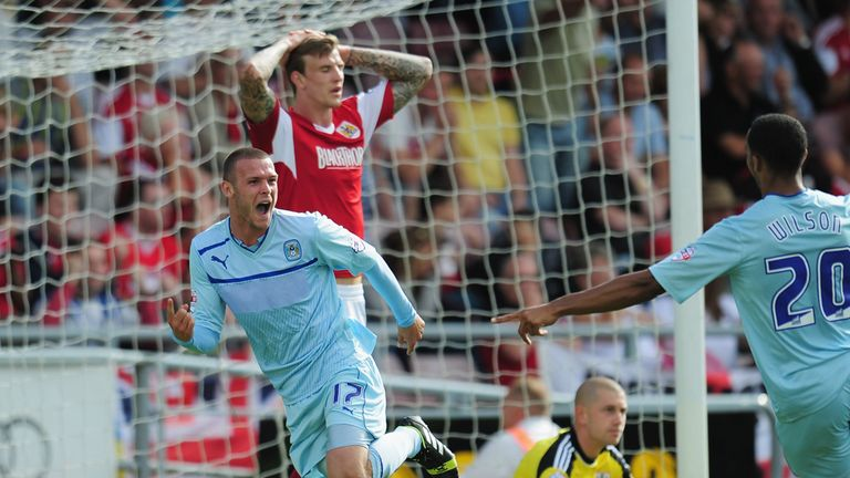 Billy Daniels: Celebrates winner against Bristol City