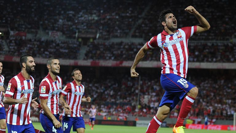 Atletico Madrid will be looking for a repeat of their Copa del Rey triumph last season