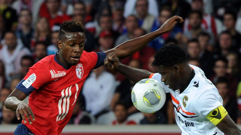 Divock Origi: Struck first for Lille